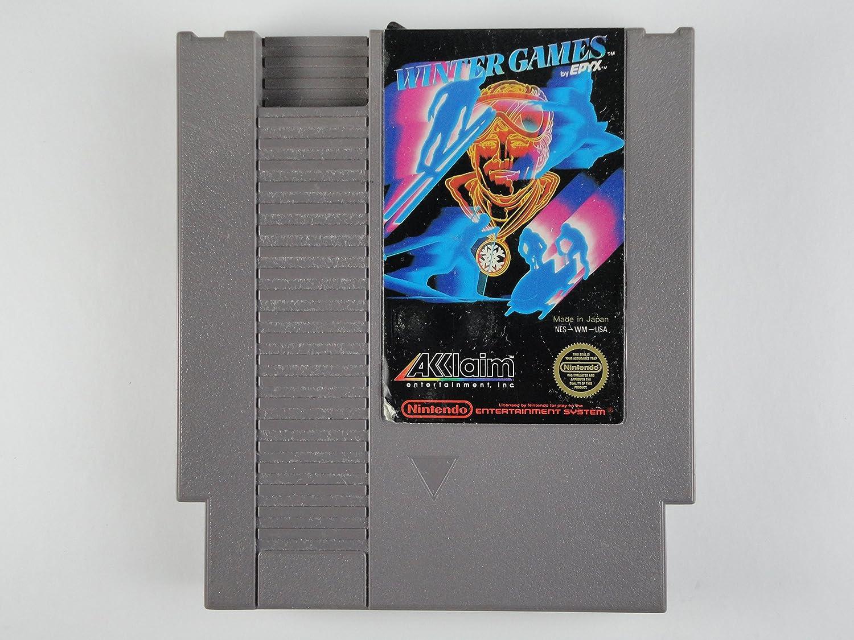 Amazon com: Winter Games Vintage Fun Original Nintendo NES Game