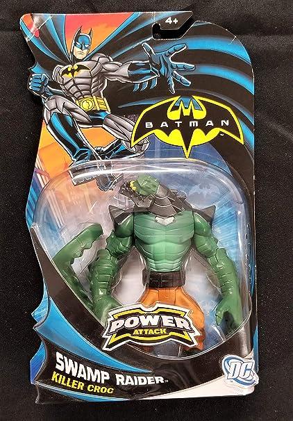 Amazon.com: Mattel Año 2011 DC BATMAN Power Attack Series 6 ...