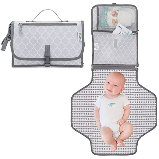 Baby Portable Changing Pad, Diaper Bag, Travel Changing Mat Station