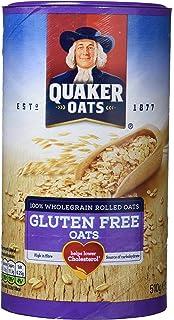 Quaker Copos de Avena sin Gluten - Paquete de 6 x 510 gr - Total: