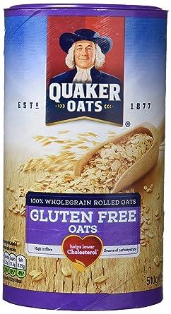 Quaker Copos de Avena sin Gluten - Paquete de 6 x 510 gr ...