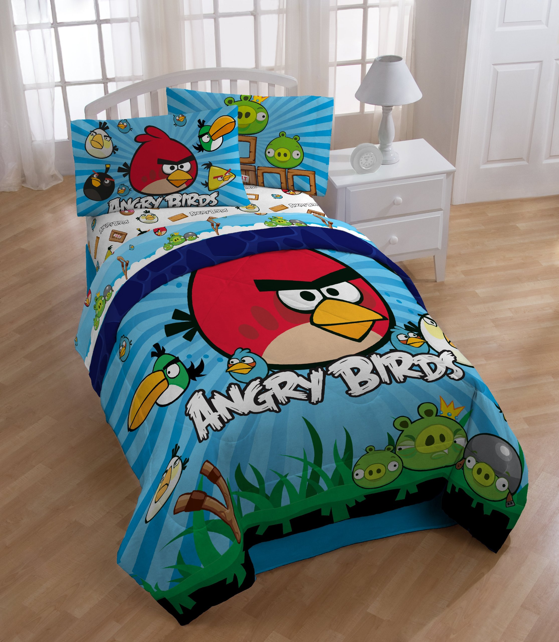 Angry Birds Application Game Twin-Single Bed Comforter