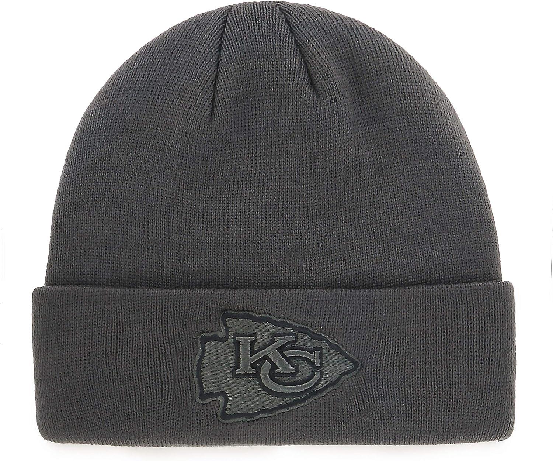 NFL Mens OTS Raised Cuff Knit Cap