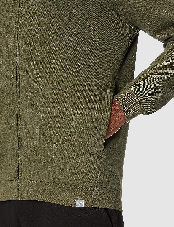 CARE OF by PUMA Mens Long Sleeve Zip Through Hoodie