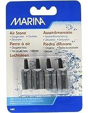 Marina 1-Inch Cylinder Air Stone, 4 per Pack