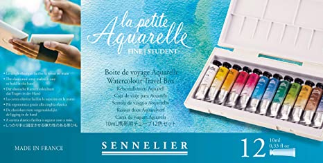 Sennelier La Petite Aquarelle Tubos 12 10ml
