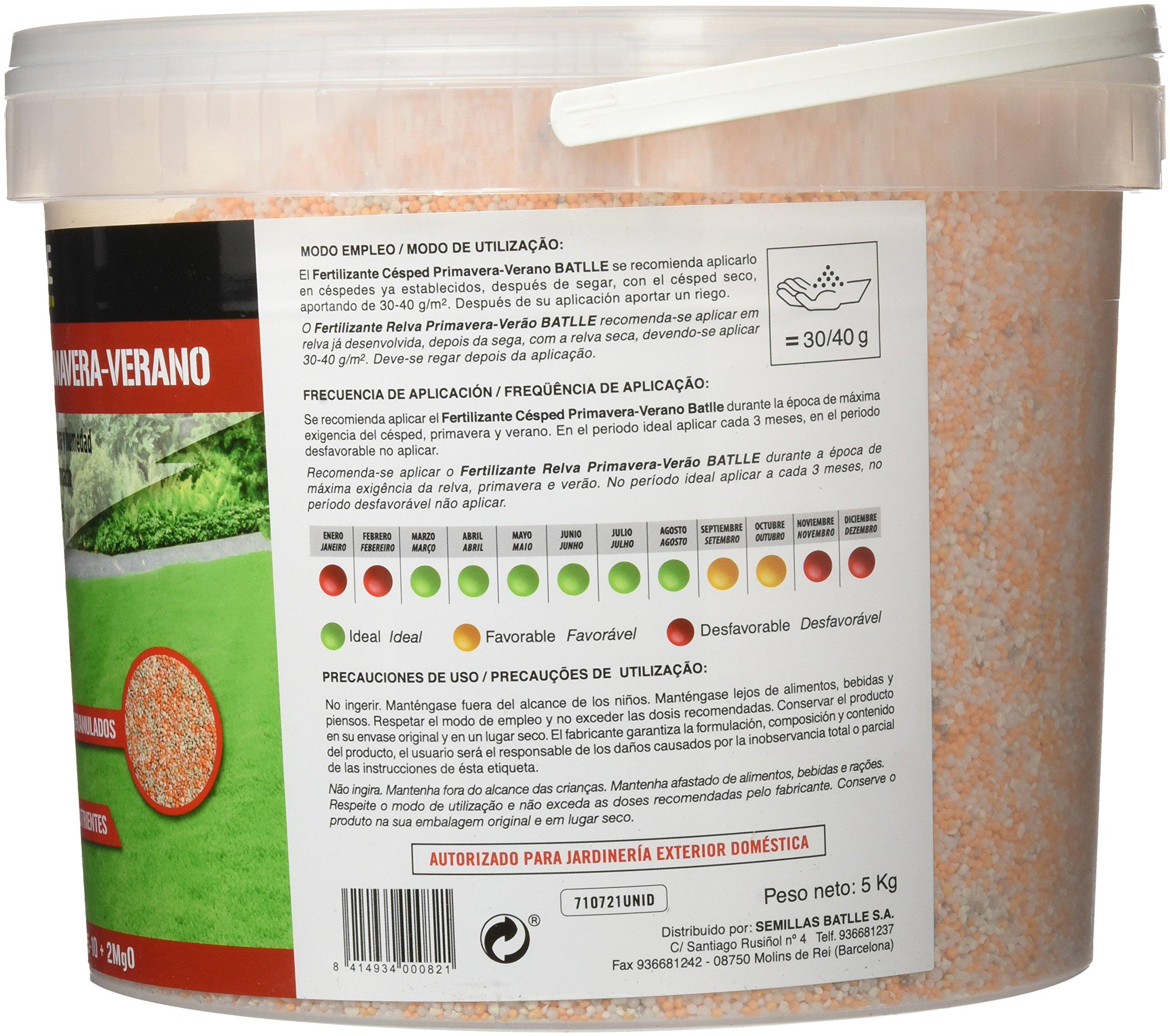 Amazon.es: Semillas Batlle: Fertilizantes Céspedes