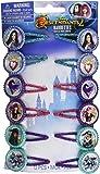 "amscan Disney Descendants 2 Birthday, Hair Clip Favor, 1"" x 2"", 12 Ct., Multicolor, Standard (398691)"