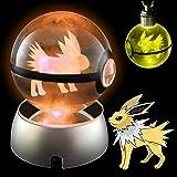 Pokemon Crystal Poke Ball Night Light with Large