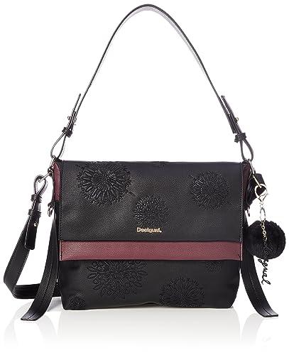 eea00a8f00 Desigual Aleida Mini Kiev Shoulder Bag Negro  Amazon.co.uk  Shoes   Bags