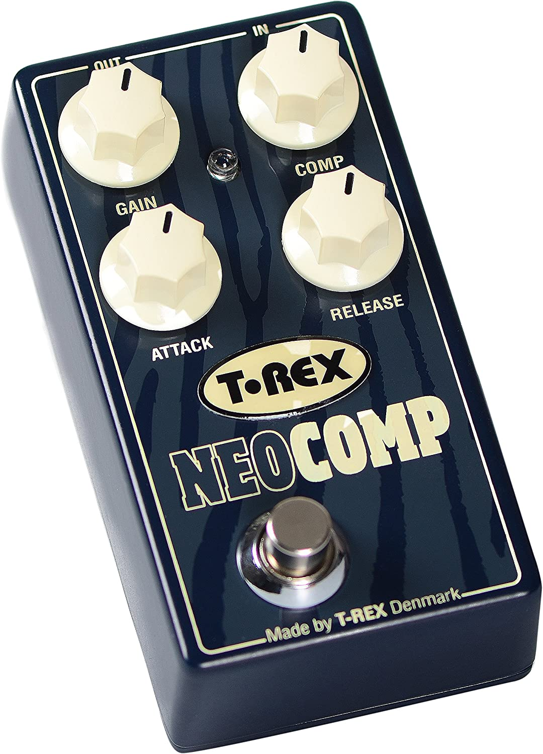 T-Rex Engineering NEOCOMP Compressor Guitar Effects Pedal with Premium, Studio-Grade Compression