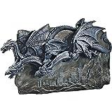 Design Toscano Morgoth Castle Dragons Wall Sculpture
