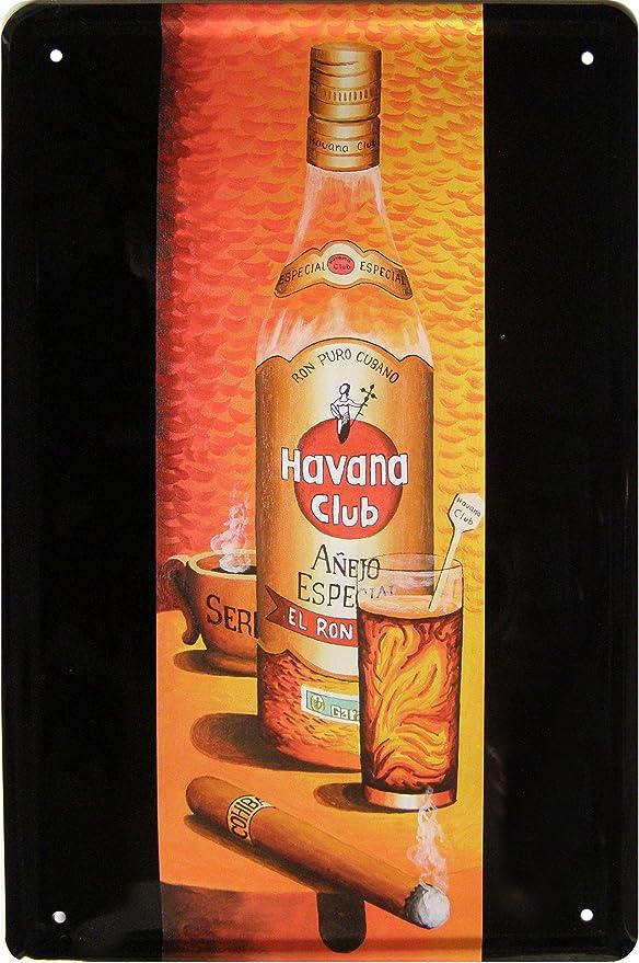 Culto Ron de Cuba bonito diseño de cartel decorativo diseño ...
