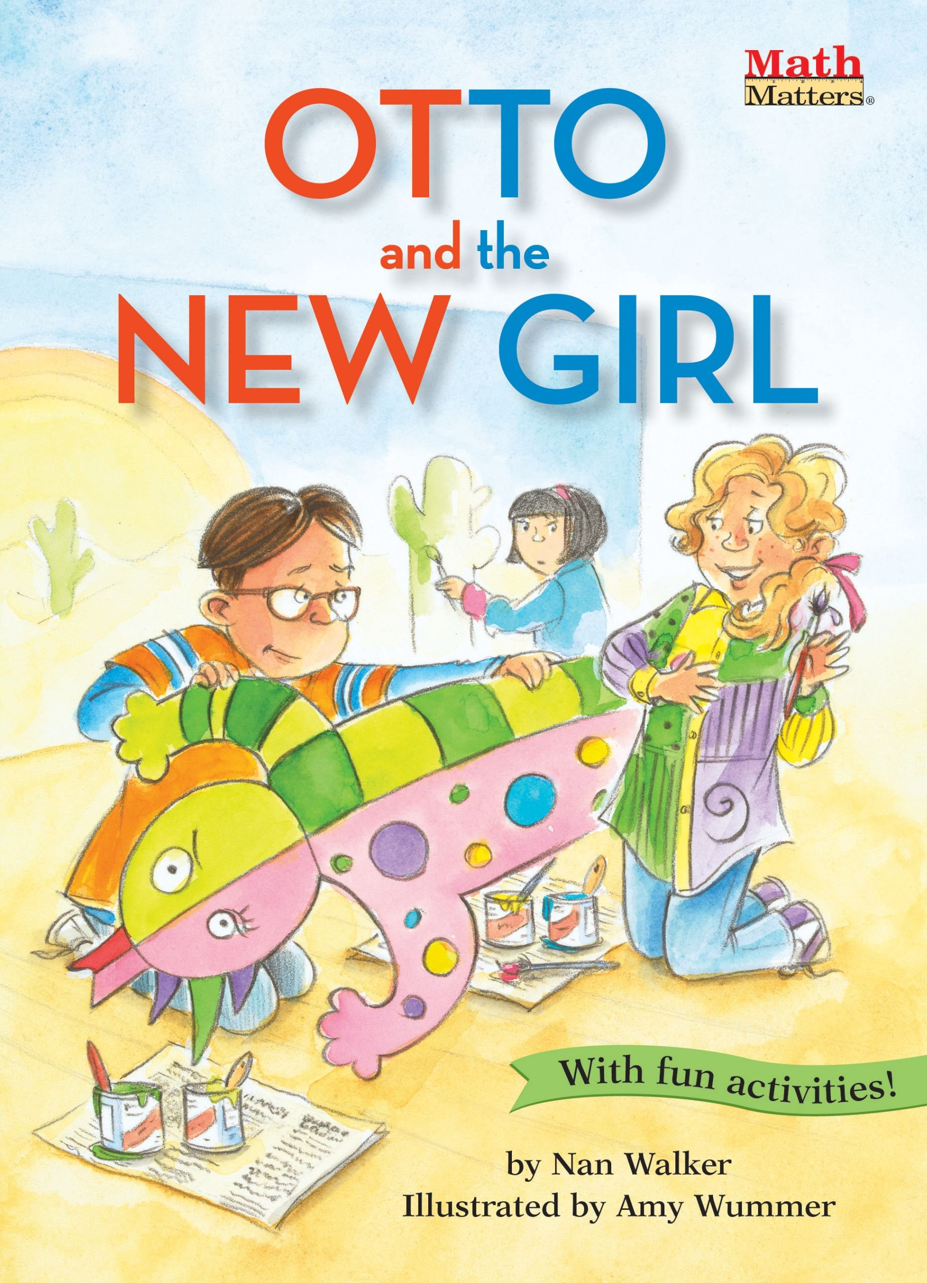 Otto and the New Girl: Symmetry (Math Matters) pdf
