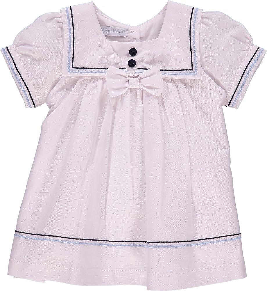 Amazon Com Baby Girls Nautical Dress White 9m Clothing