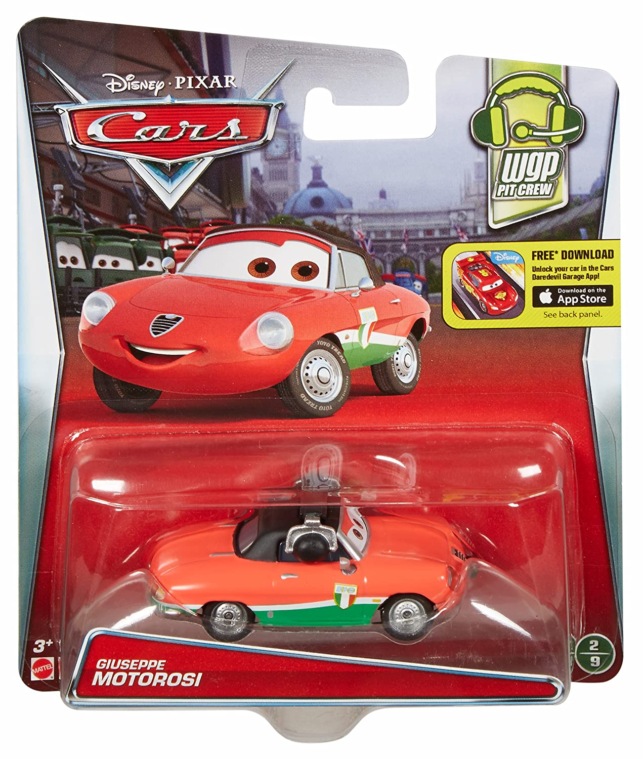 Disney/Pixar Cars Giuseppe Motorosi Vehicle by Mattel: Amazon.es: Juguetes y juegos