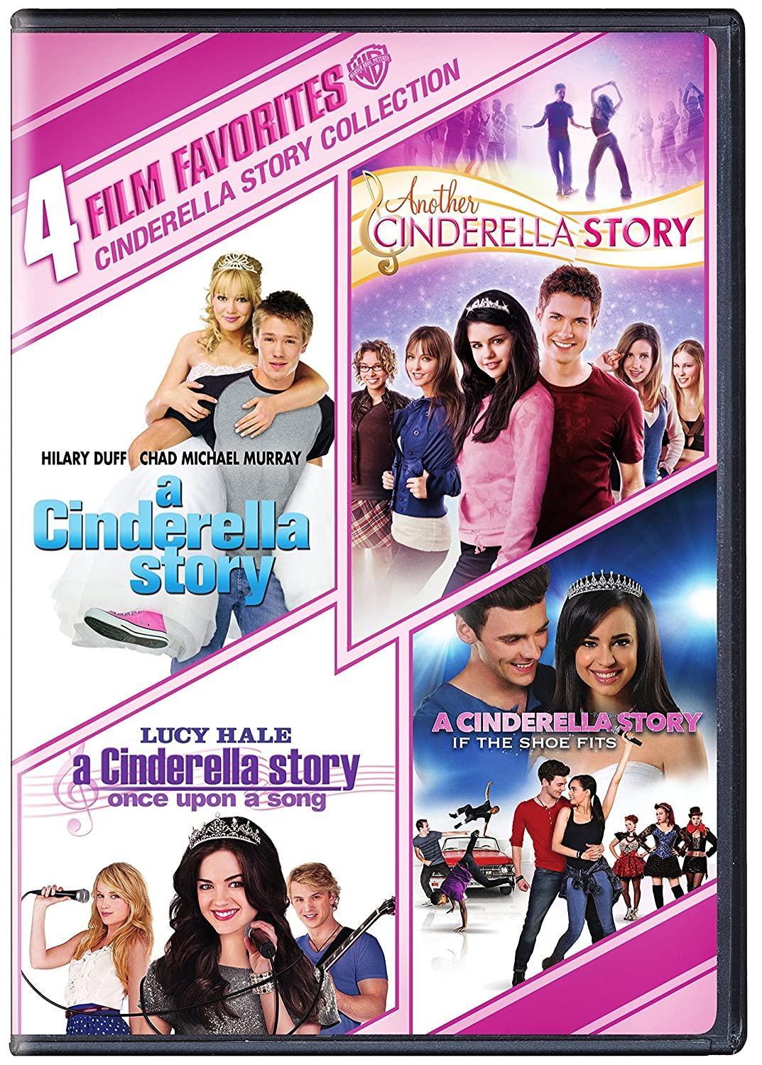8fb065ef2fb Amazon.com  A Cinderella Story  If The Shoe Fits 4-Film Bundle (4pk)   Various  Movies   TV