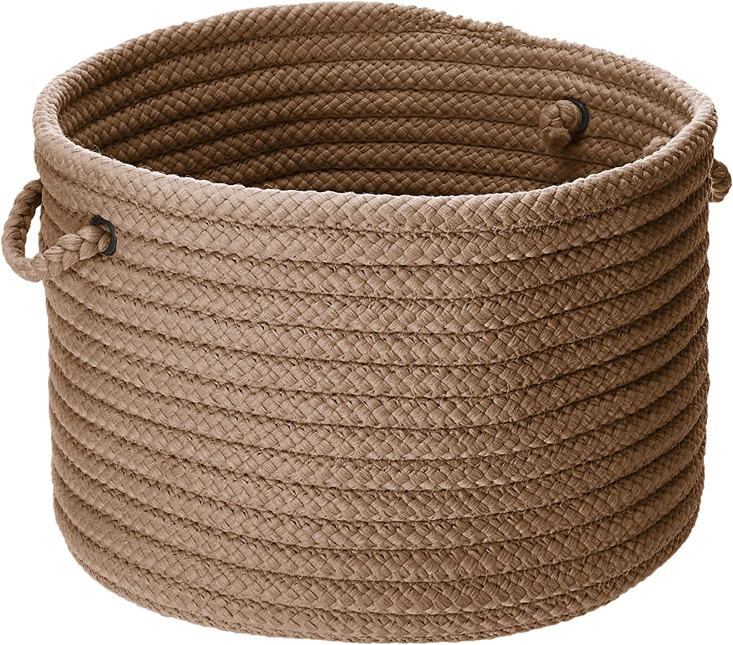 Colonial Mills Simply Home Solid Utility Basket, 24 by 14-Inch, Cashew