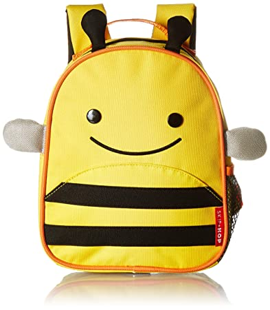 Amazon.com   Skip Hop Toddler Leash and Harness Backpack, Zoo Collection,  Bee   Baby 1b980e792d