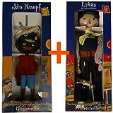 Jim Knopf und Lukas der Lokomotivführer - Marionetten der Augsburger Puppenkiste zusammen