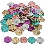 """Fun Express """"I Was Caught Being Good!"""" Plastic Coins- Bulk (144 Piece) -Classroom Incentives-Teacher Supplies"""