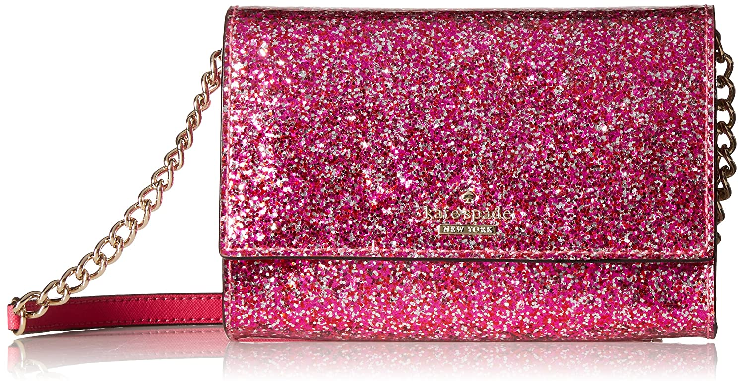 31d75f8f5 kate spade new york Glitter Bug Cami Crossbody Red Multi: Amazon.co.uk:  Shoes & Bags
