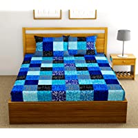Urban Space - Serene Collection 200 Tc Cotton Double Bedsheet with 2 Pillow Covers