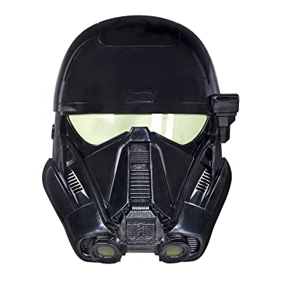 Star Wars: Rogue One Imperial Death Trooper Voice Changer Mask: Toys & Games