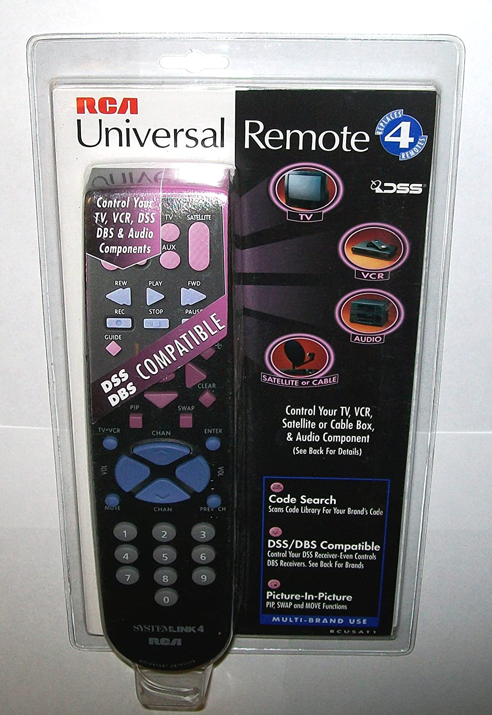 RCA (rcusat1) mando a distancia universal 4 dispositivos DBS sistemas de satélite.: Amazon.es: Electrónica