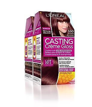 Coloration cheveux sans ammoniaque casting
