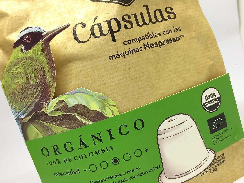 ORGANIC Coffee Capsules, Coffee Quindio, Nespresso (Compatible),100% Colombian Coffee,Medium Roast Organic Coffee: Amazon.com: Grocery & Gourmet Food