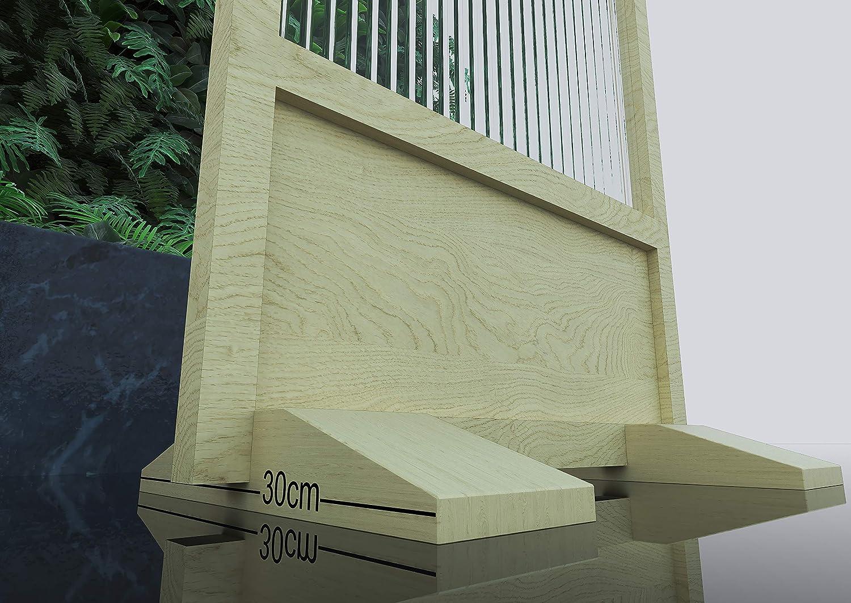 Biombo Separador Anticontagio para Bares y restaurantes 55x180cm Fabricado en España: Amazon.es: Bricolaje y herramientas