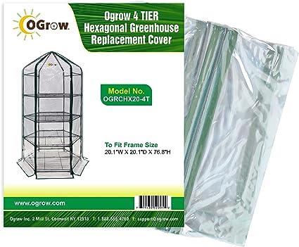 Amazon.com: Ogrow - Funda de repuesto para invernadero ...