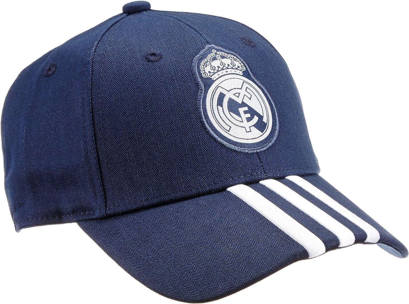 adidas Gorra Real Madrid 3-Stripes Azul Collegiate Navy/White ...