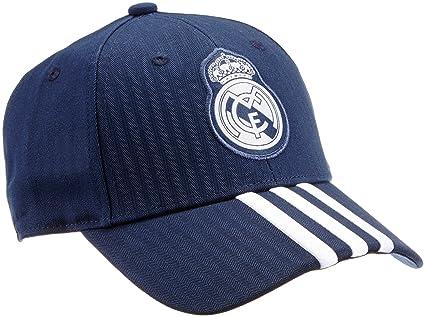 adidas Gorra Real Madrid 3-Stripes Azul Collegiate Navy/White/Blast Purple F13