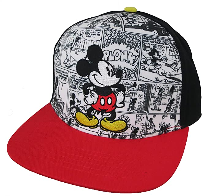 Image Unavailable. Image not available for. Color  Disney Mickey Mouse  Comics Adult Baseball Cap ... 4c4baedb24bc