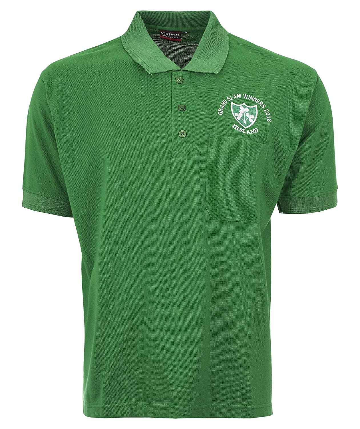 reputable site 5c850 13448 Activewear IRELAND RUGBY GRAND SLAM WINNER 2018 RUGBY SHIRTS S TO 2XL
