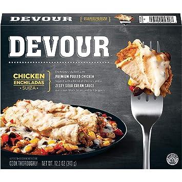 Devour Chicken Enchiladas Suiza 12 Oz Frozen Amazon