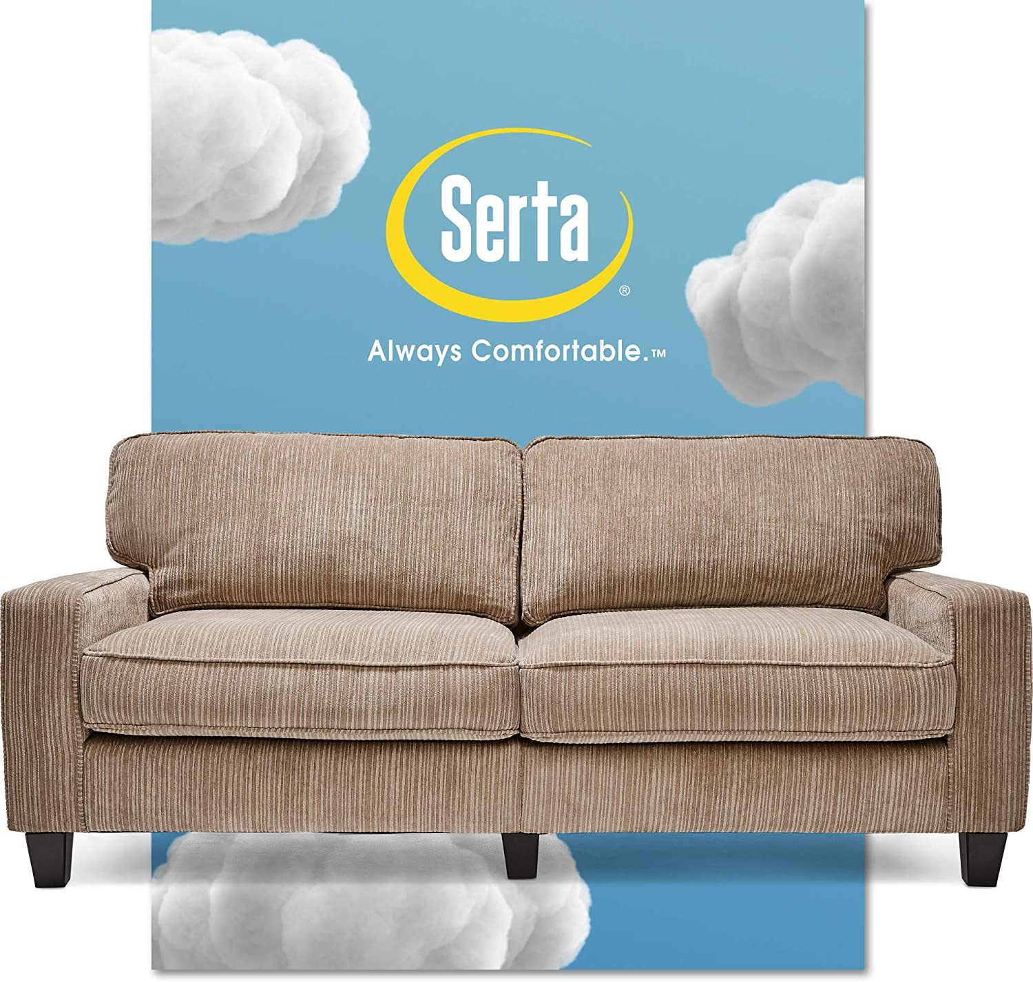 - Amazon.com: Serta Palisades Upholstered Sofas For Living Room