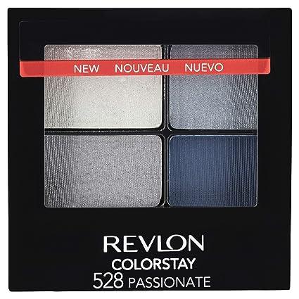 Revlon ColorStay 16 Hour Eye Shadow Quad, Passionate,0.16oz