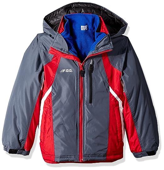 01f5272e9f89 Amazon.com  London Fog Big Boys  4-In-1 System Jacket Winter Coat ...