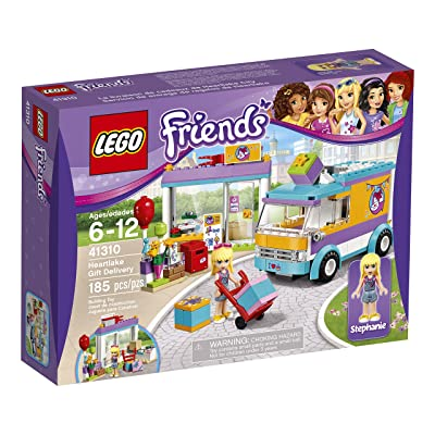 LEGO Friends Heartlake Gift Delivery 41310 Toy for 5- to 12-Year-Olds: Toys & Games