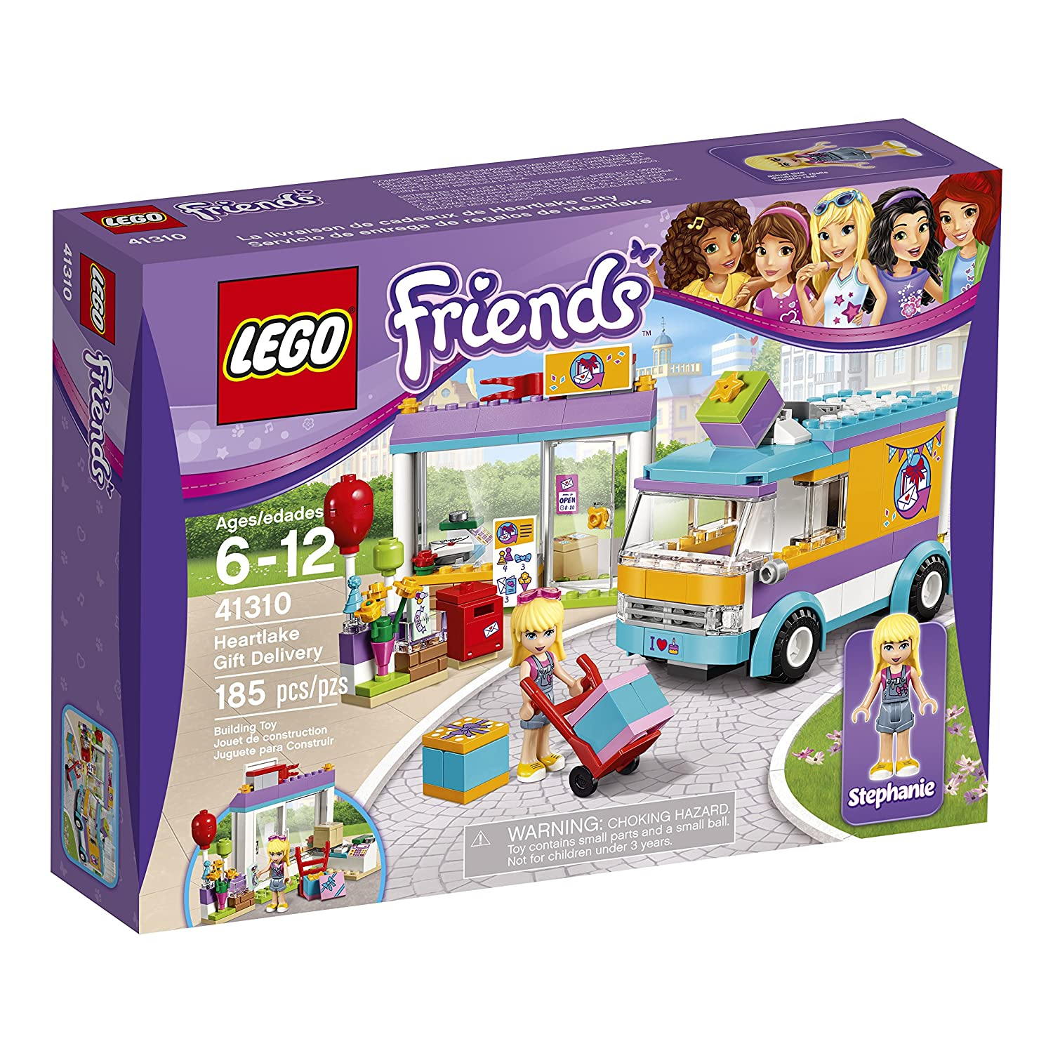 Amazon LEGO Friends Heartlake Gift Delivery Toy for 5