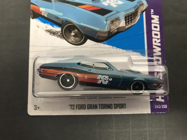 '72 FORD GRAN TORINO SPORT Hot Wheels 2013 SUPER TREASURE HUNT HW Showroom