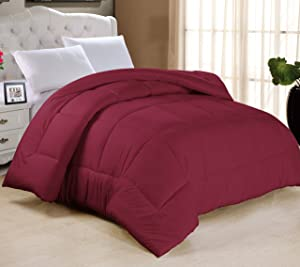 Swift Home Luxury Bedding Collection…Swift Home All-Season Extra Soft Luxurious Classic Light-Warmth Goose Down-Alternative Comforter, King 104
