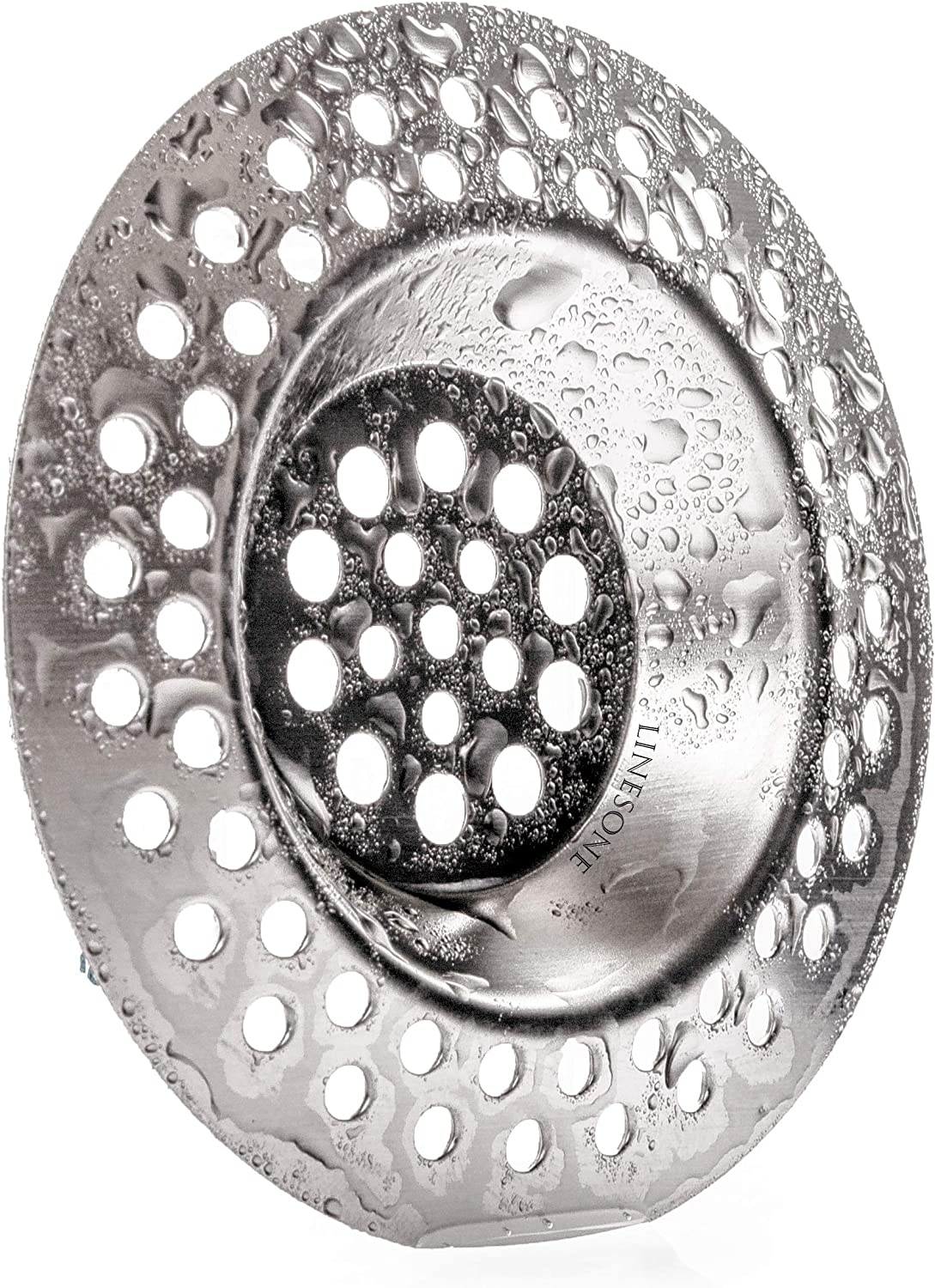 Standard strainer drain protector from clog for bathroom Lines One Portable steel hair catcher kitchen shower 3 inches
