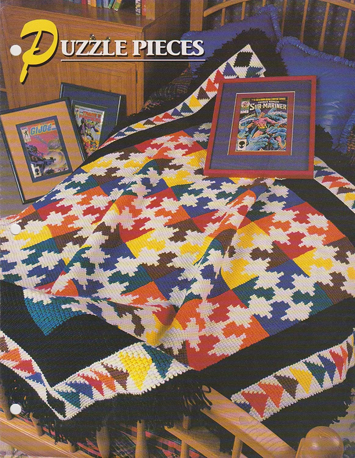 Puzzle Pieces Afghan Crochet Pattern