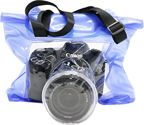 DSLR - Funda impermeable para cámara réflex digital Canon Nikon ...