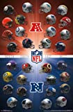 """Amazon Price History for:NFL Helmets, 2016, 22"""" x 34"""", Wall Poster"""