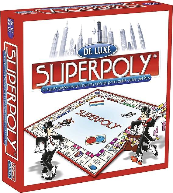 Falomir 646384 - Juegosuperpoly De Luxe Euro: Amazon.es: Juguetes y juegos